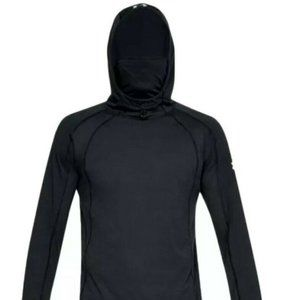 Men's UA 2XL Black Hoodie Microthead Swyft Face